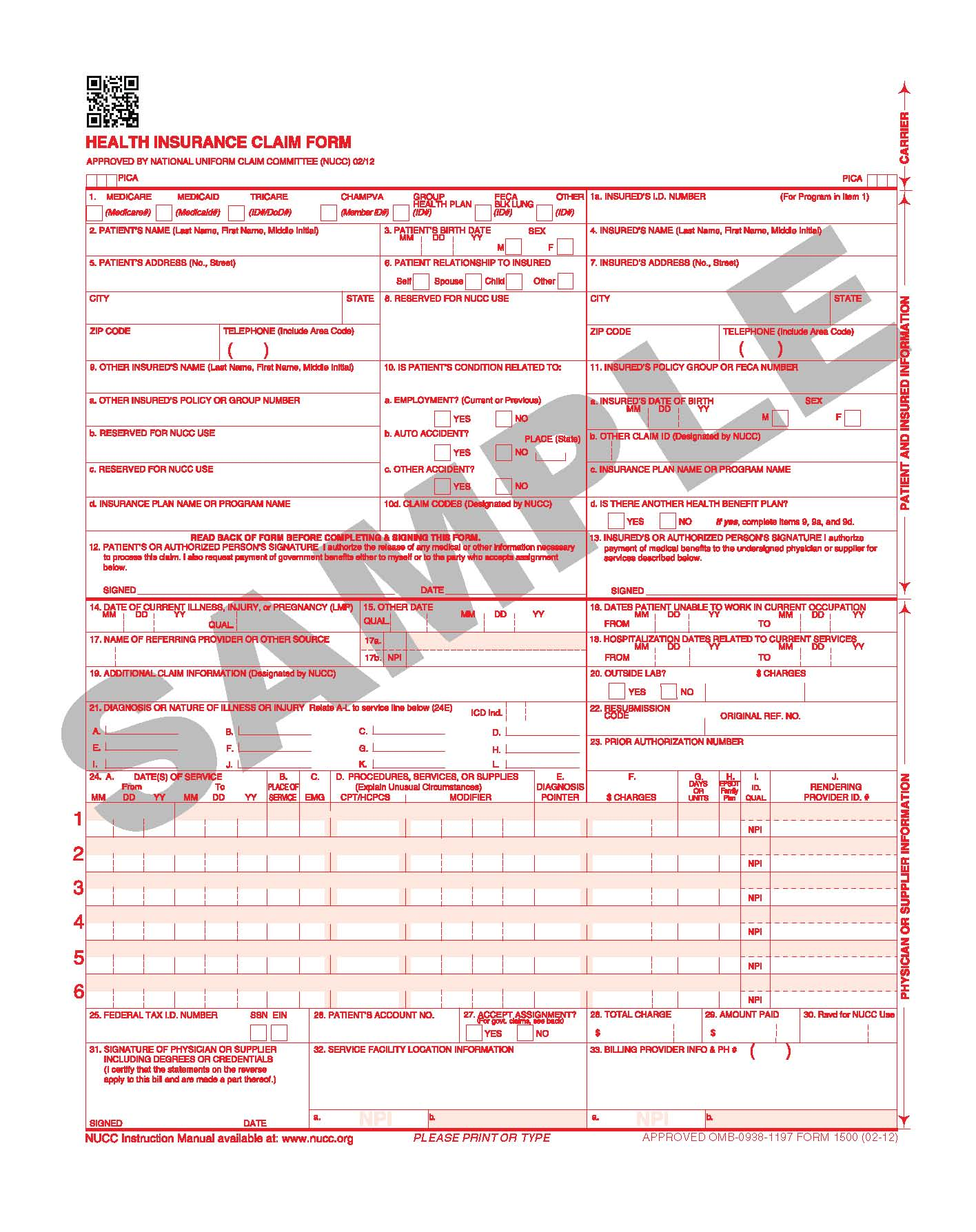 New Claim Form 1500 Coming Soon . . . Maybe? | CIPROMS, Inc.