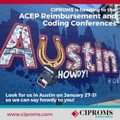 2020 ACEP Reimbursement and Coding Conferences